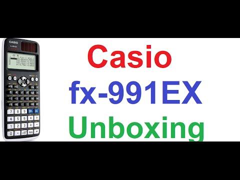 Casio fx-991EX Classwiz Scientific Calculator – Unboxing and First Review