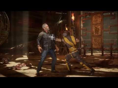 Mortal Kombat 11 Kombat Pack – Official Terminator T 800 Gameplay Trailer (2019)