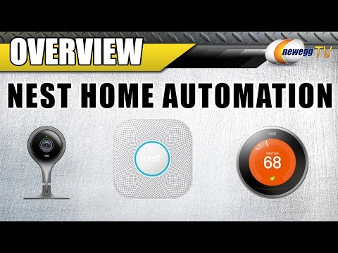 Nest Home Automation Overview ft. Nest Security Camera, Thermostat, and Smoke Alarm – Newegg TV