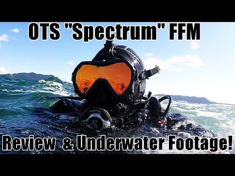 Ocean Technology Systems Spectrum Review, Unboxing, & Guardian Comparison – OTS SCUBA Full Face Mask