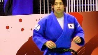 Judo出口クリスタ×盧童娟1R柔道グランドスラム東京2013-1129