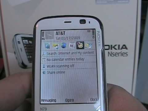 First look at the Nokia N79-3 NAM