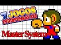 Master System 7 Jogos Indispens veis