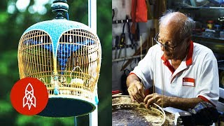 This Man Builds Sweet Homes for Birds