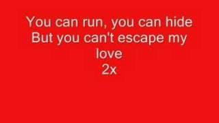 enrique iglesais(Cant escape my love) lyrics