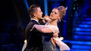 Kimberley Walsh & Pasha Waltz to 'A Thousand Years' - Strictly Come Dancing 2012 Final - BBC One