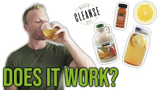 What Is The Master Cleanse Diet? 🍋🌶️🍁 (I TRIED IT AND WAS SHOCKED) | LiveLeanTV