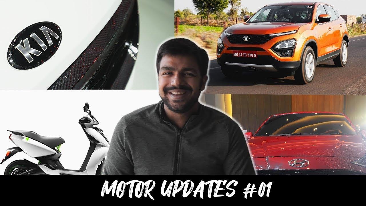 Motoroctane Youtube Video - Motor Daily # 1: Kia Seltos Price Increase, Mahindra XUV500 2020 Images, Hyundai Aura Bookings