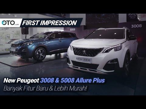 New Peugeot SUV 3008 & 5008 Allure Plus | First Impression | Fitur Baru & Lebih Murah | OTO.com