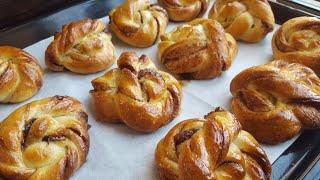 Плетеные БУЛОЧКИ с корицей ☕ вкусно и просто ☕ Cinnamon buns