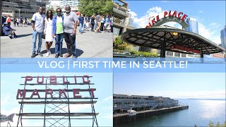 VLOG   First Time in Seattle!