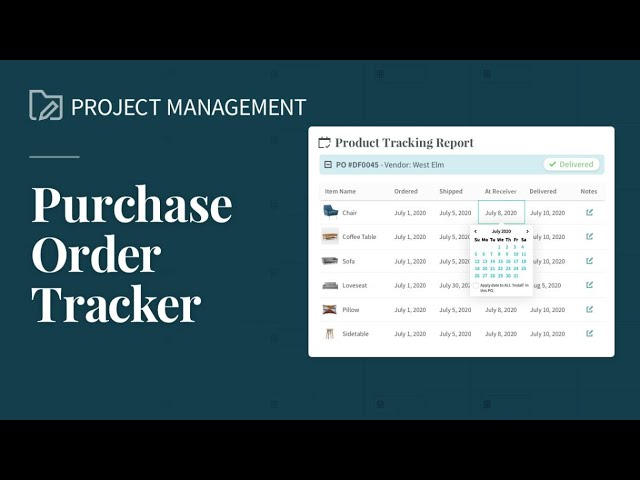 Project/Product Tracker