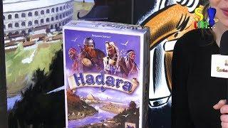 Kurzerklärung zu HADARA - Hans im Glück - Spielwarenmesse 2019