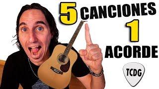 5 Canciones Fáciles En Guitarra Con Solo ¡1 Acorde! | Perfectas Para Principiantes
