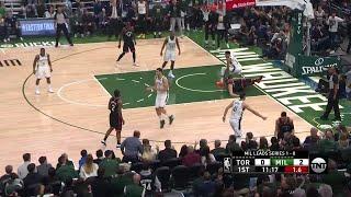 1st Quarter, One Box Video: Milwaukee Bucks vs. Toronto Raptors