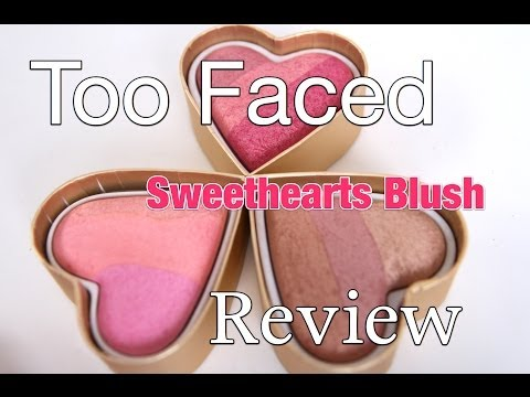Too Faced Sweethearts Blush Review| Happy Valentine's Day