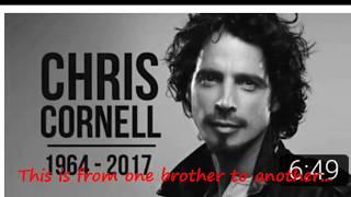 Chris Cornell's spirit warns us about his friend Chester Bennington