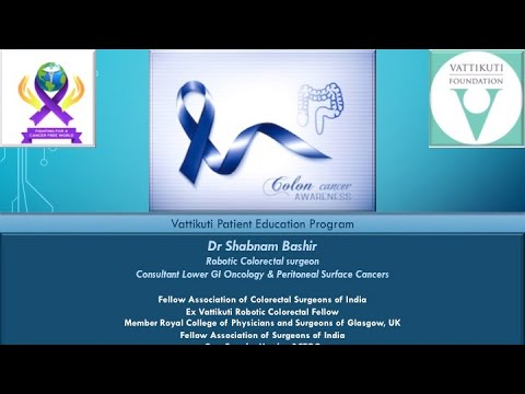 VF Webinar: Colorectal Cancers: all you need to know to reduce your risk
