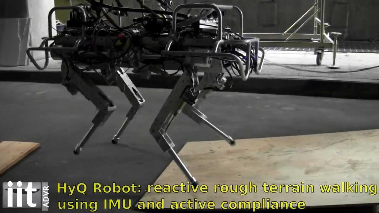 The HyQ Is A Robotic Italian Stallion