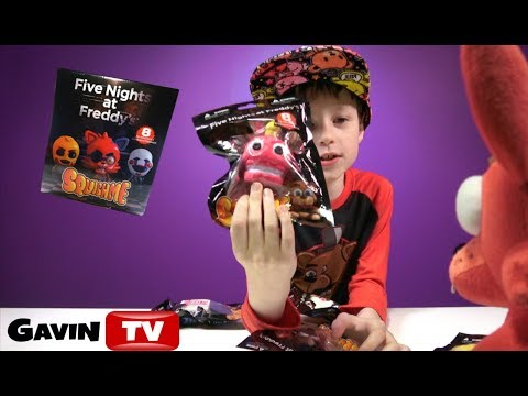 FNAF SquishMe Series 1 Five Nights at Freddy's Squishable Toys