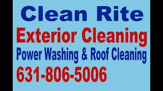 Soft Wash Exterior Cleaning Port Jefferson Station New York