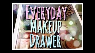 #3 - Whats In My Everyday Makeup Drawer?
