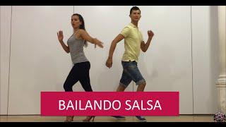 Marc Anthony Flor Palida - BAILANDO SALSA - SALSA DANCING
