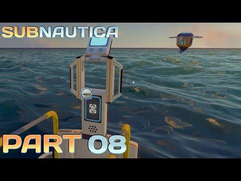 Let's Play Subnautica Deutsch Part 08 - Wir haben Schmierstoff