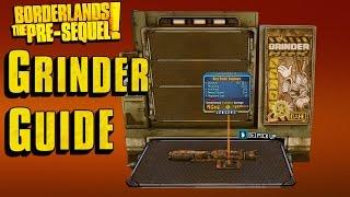 grinder recipes borderlands the pre sequel - Thủ thuật máy tính