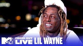 Lil Wayne Reveals How He Ended Up On 'The Masked Singer' | #MTVFreshOut