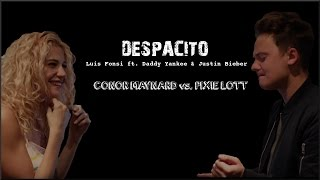 Lyrics: Luis Fonsi - Despacito ft. Daddy Yankee & Justin Bieber (Conor Maynard vs Pixie Lott)