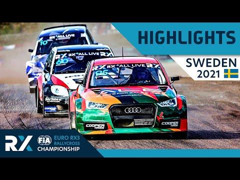世界ラリークロス 第4戦スウェーデン(ホーリエス)2021年 RX3クラスの予選Day1ハイライト動画