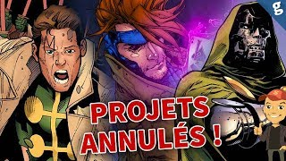 Les projets MARVEL de la FOX que l'on ne verra JAMAIS !