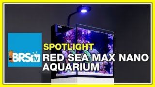 How to set up a nano reef tank with the Red Sea Max Nano - BRStv