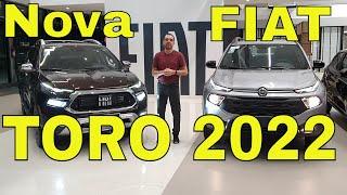 Nova Fiat Toro 2022 - Diferenças Nova e Antiga