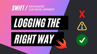 How To Do Logging In Swift The Right Way | How To Create A Custom Logging Utility