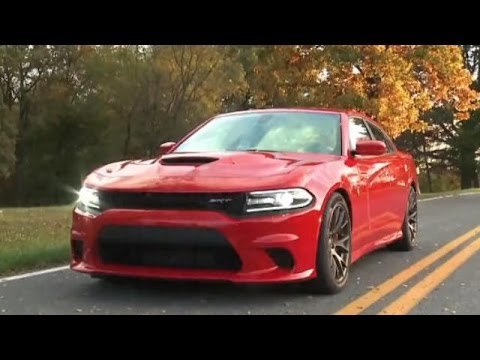 2015 Dodge Charger SRT Hellcat First Drive and Track Test Video Review