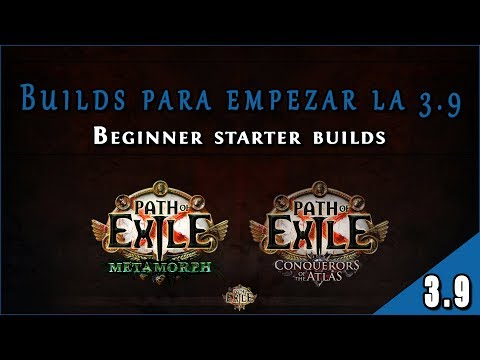 Guía Builds 3.9 - Liga Metamorph || Lista Builds Starter en Path of Exile