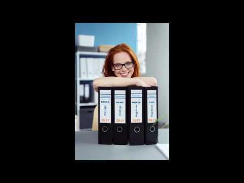 Avery Zweckform Ordneretiketten mit Seriendruckfunktion Schritt für Schritt erklärt