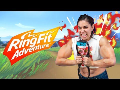 Getting RIPPED with Ring Fit Adventure