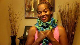DOY- Crochet Ruffle Scarf Tutorial.
