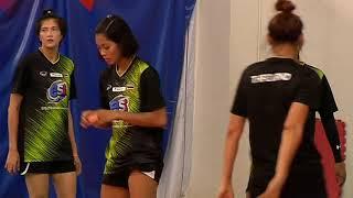 วอลเลย์บอลหญิงทีมชาติไทยซ้อมก่อนเดินทางไปแข่ง มงเทรอซ์ วอลเลย์ มาสเตอร์ส 2019