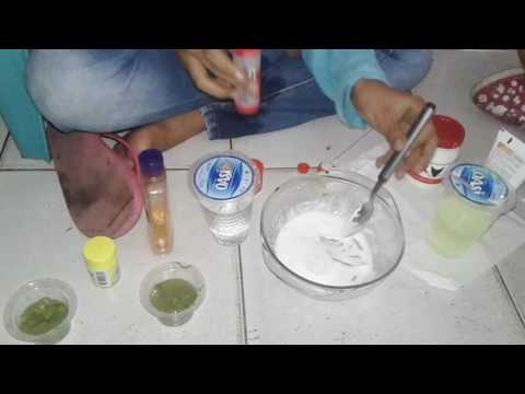 Video Cara membuat slime ala refa and zenith