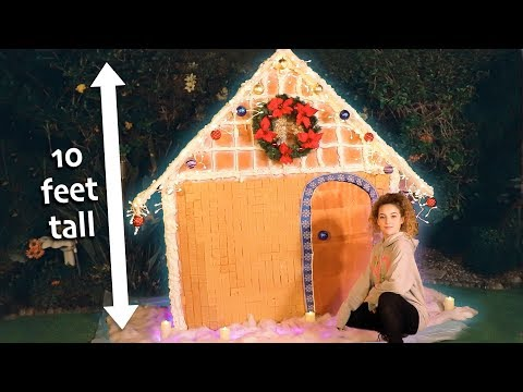 MONSTER GINGERBREAD HOUSE CHALLENGE Mp3