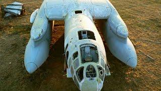 Заброшенные уникальные и лучшие в свое время военные самолеты