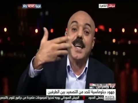 سمير مشهراوي على قناة سكاي نيوز بخصوص العدوان على غزة