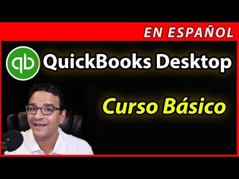 Curso Básico en Español de QUICKBOOKS DESKTOP