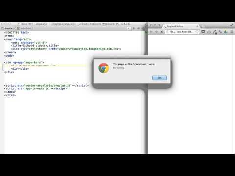 Egghead.io - AngularJS - Directive Restrictions - YouTube