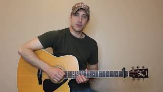 The Story Never Ends - Aaron Lewis - Guitar Lesson | Tutorial