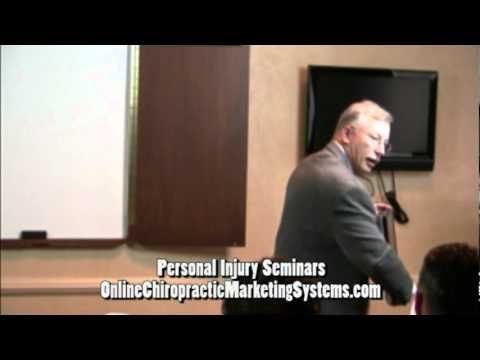 Chiropractic Personal Injury Seminar by Online Chiropractic Marketing Systems